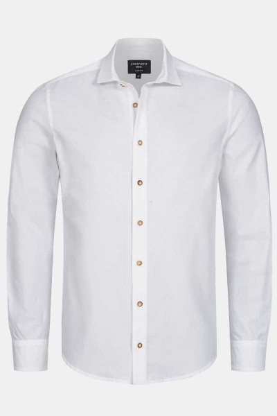 Trachtenhemd Henry Classic White