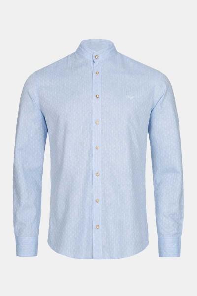 Trachtenhemd Finley Skyway Blue