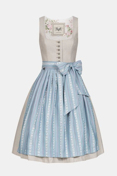 Dirndl Rosi Blue Stripes