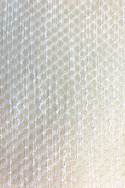 Jacquard-Stoff Beige Dots