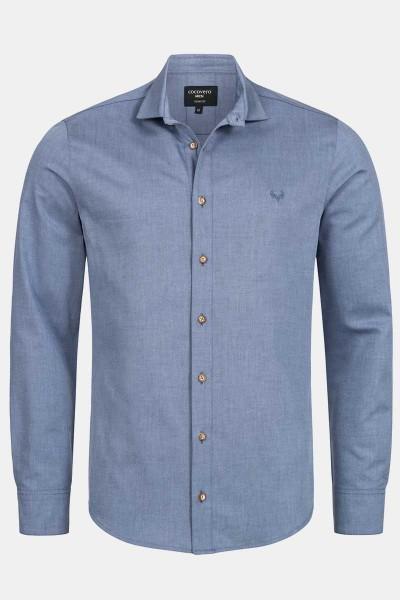 Trachtenhemd Henry Patriot Blue