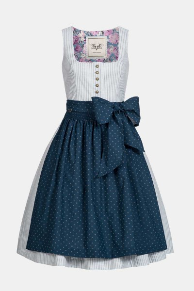 Dirndl Rosi Navy Stripes