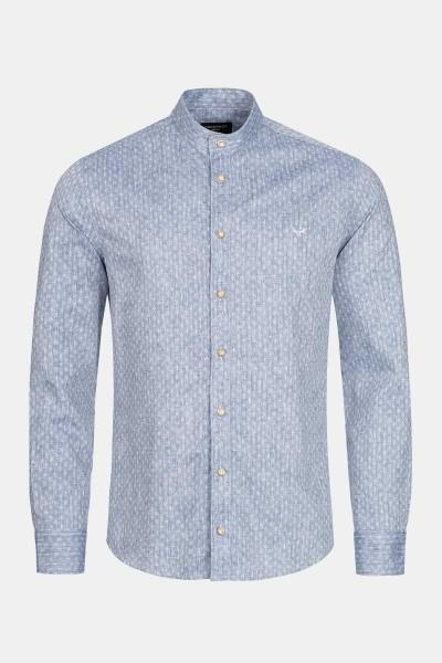 Trachtenhemd Finley True Blue