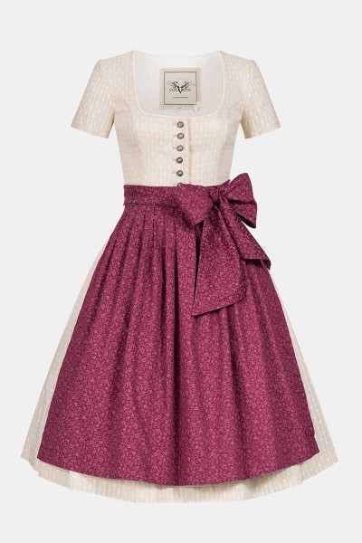 Dirndl Lara Strawberry Ice
