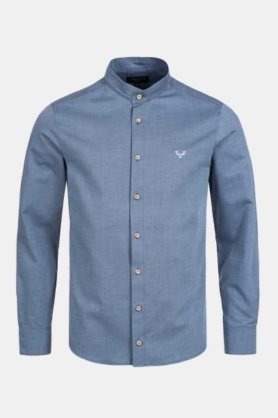 Trachtenhemd Finley Patriot Blue
