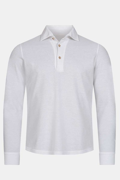 Polohemd Luca Classic White