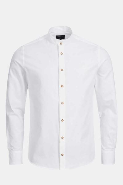 Trachtenhemd Finley Classic White