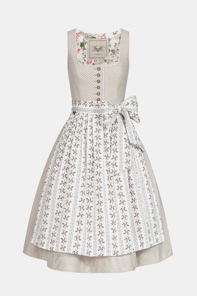 Dirndl Rosi Powder White