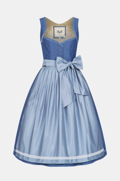 Dirndl Josephine Swedish Blue