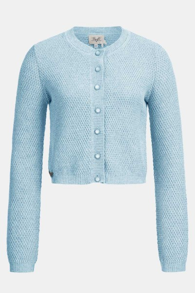 Strickjacke Minzi Powder Blue