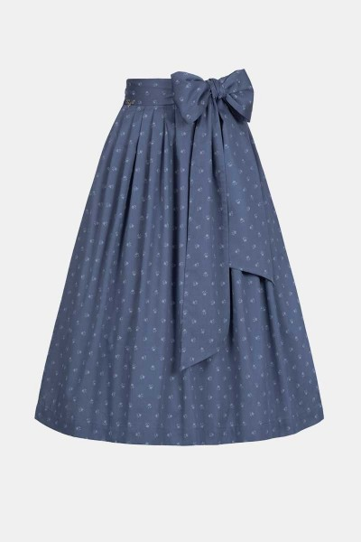 Baumwollschürze Ornate Blue