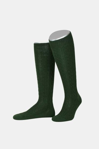 Trachtenkniestrumpf Tannengrün