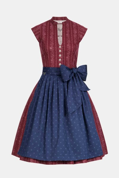 Dirndl Bibi Ruby Red