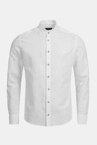 Trachtenhemd Finley Structure White