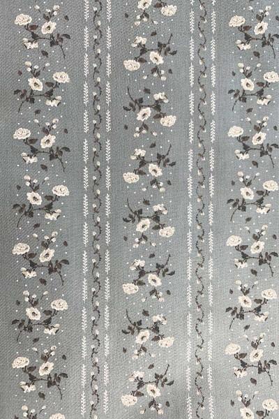 Baumwoll-Stoff Shale Grey