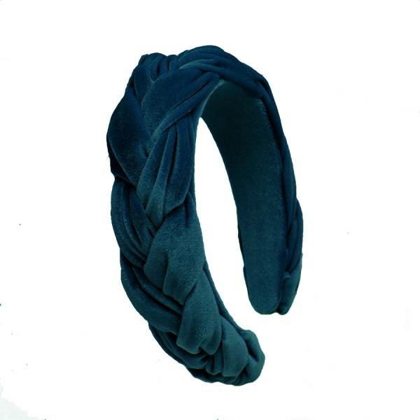 Haarreif Gretl Velvet Powder Blue