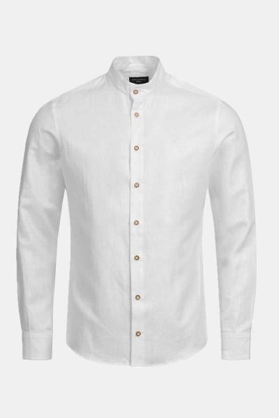 Trachtenhemd Finley Vintage White