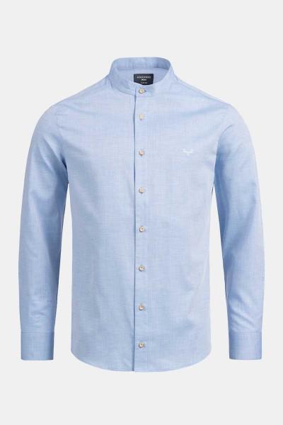 Trachtenhemd Finley Classic Blue Heringbone