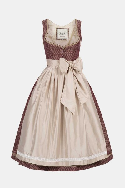 Dirndl Josephine Brick Red