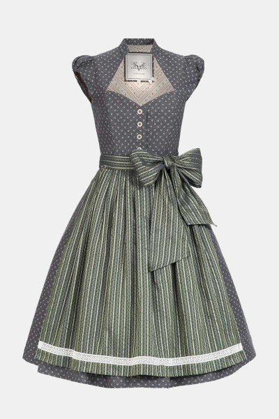 Dirndl Blum Iron Grey