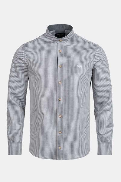 Trachtenhemd Finley Stripe Grey