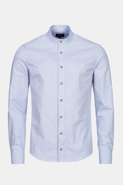 Trachtenhemd Finley Vintage Blue