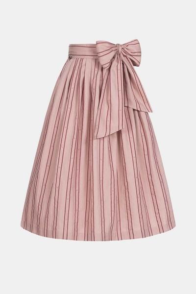Jacquard-Schürze Rose Stripe