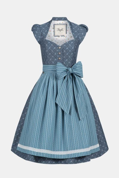 Dirndl Blum Summer Blue