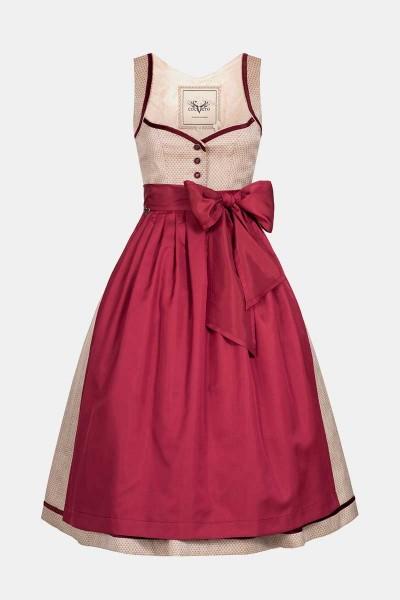 Dirndl Josephine Strawberry Red