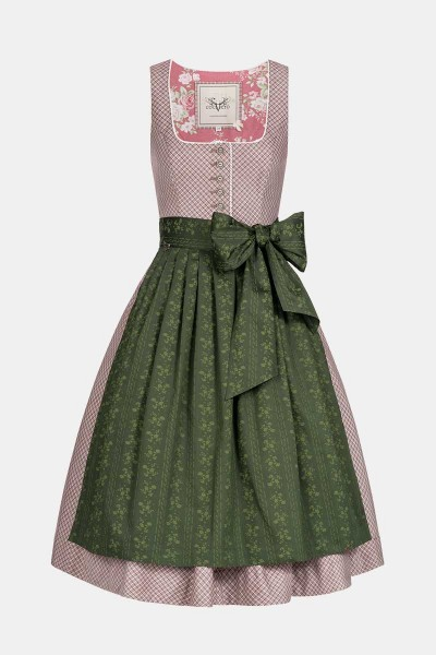 Dirndl Rosi Granate Green