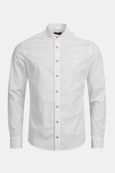 Trachtenhemd Finley Light White