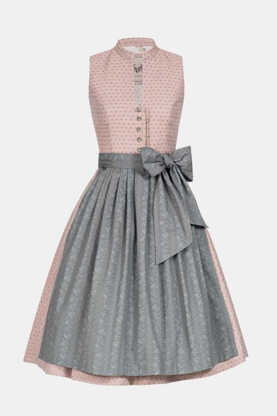 Dirndl Betti Peach Grey