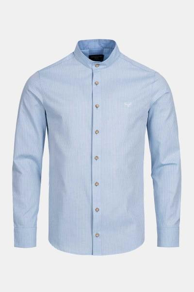 Trachtenhemd Finley Stripe Blue