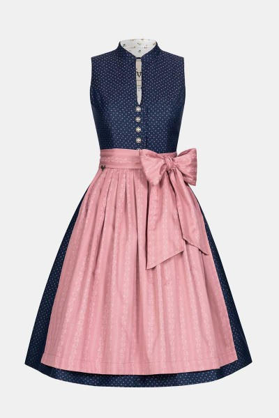 Dirndl Betti Navy Rose