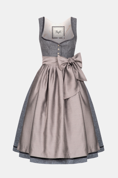 Dirndl Josephine Winter Grey