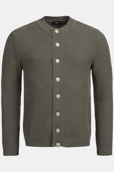 Strickjacke Jake Wooden Green
