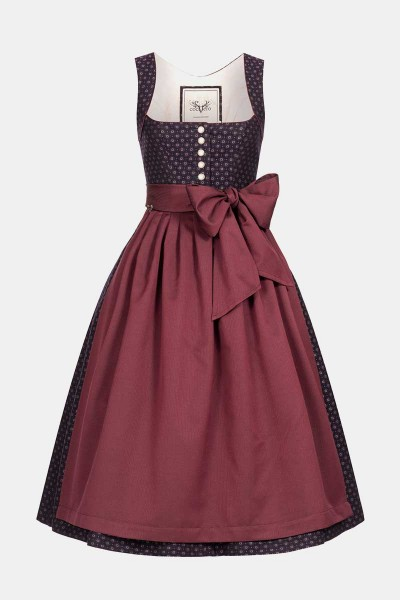 Dirndl Hedi Black Berry