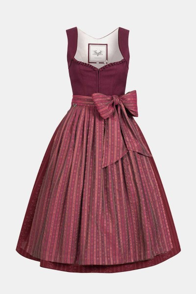 Dirndl Annelie Cherry Red