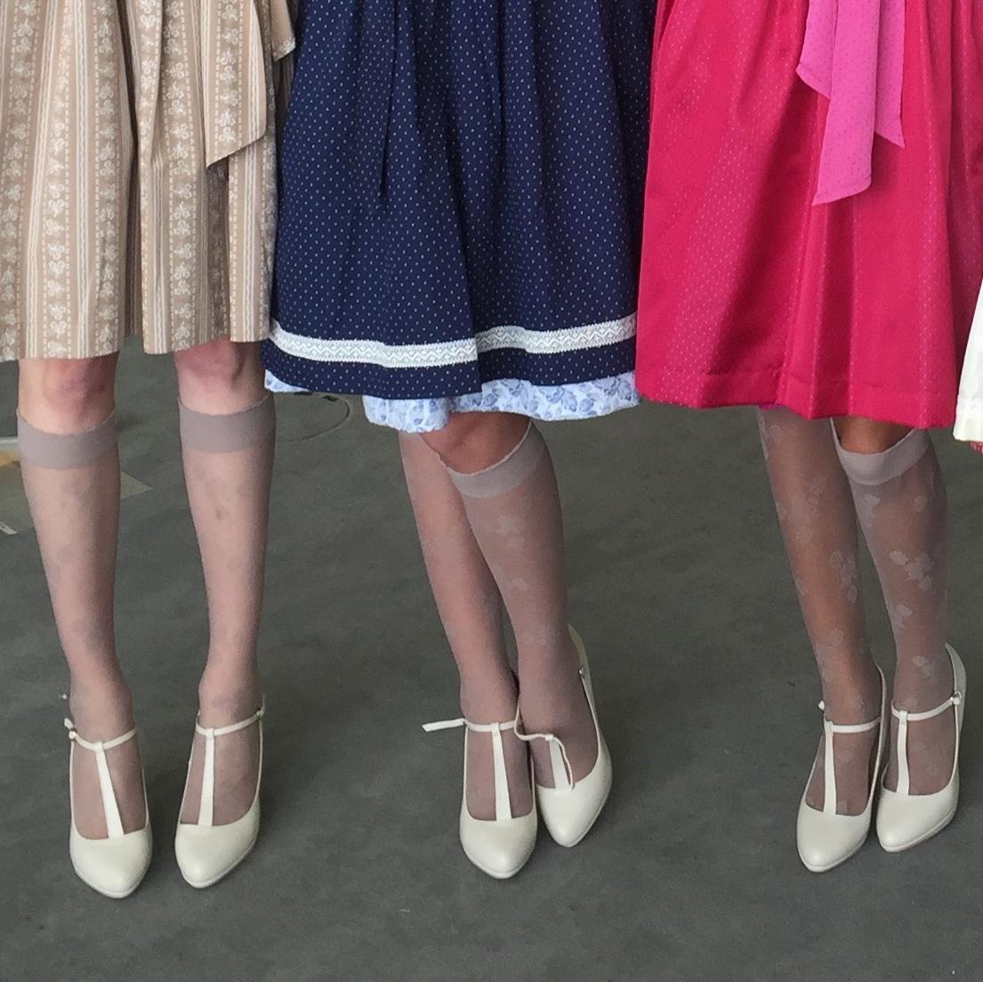 Schuhe Auf Dirndl