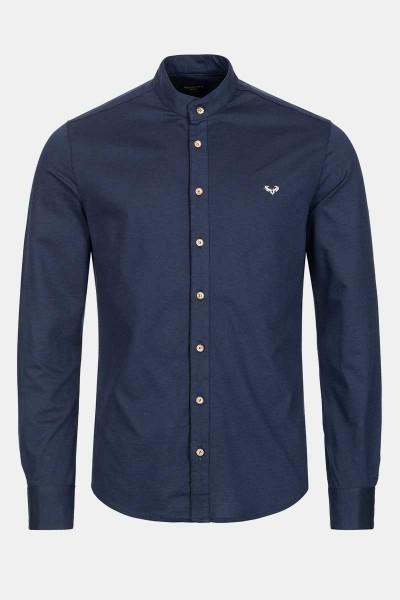 Trachtenhemd Finley Dark Blue