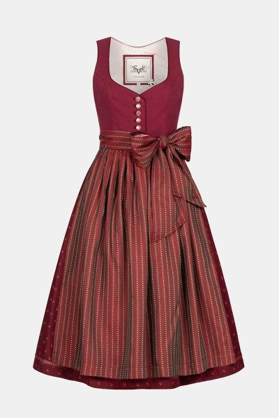 Dirndl Janni Cherry Red