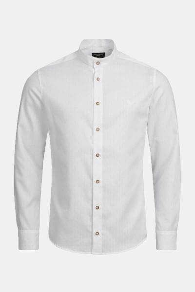 Trachtenhemd Finley White Stripe