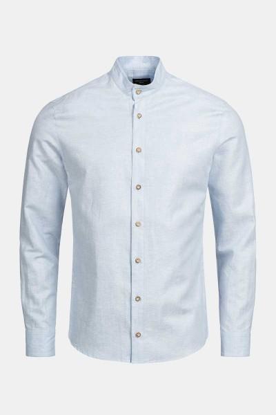 Trachtenhemd Finley Arctic Blue