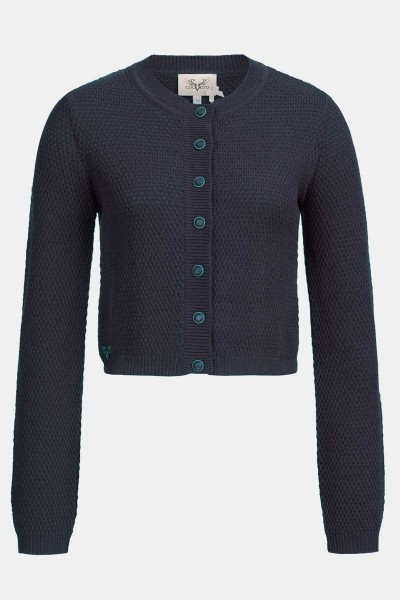 Strickjacke Minzi Midnight Blue