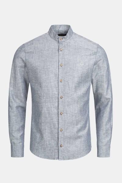Trachtenhemd Finley Slate Blue