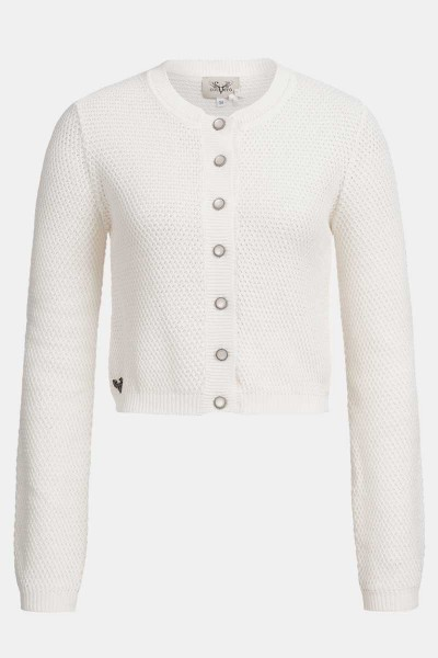 Strickjacke Minzi Off-White