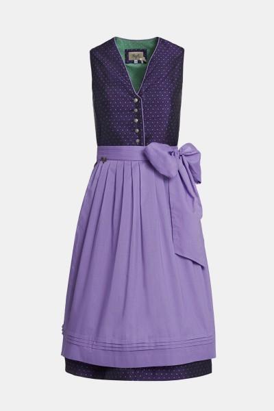 cocovero modernes retro dirndl fanny lila farbe