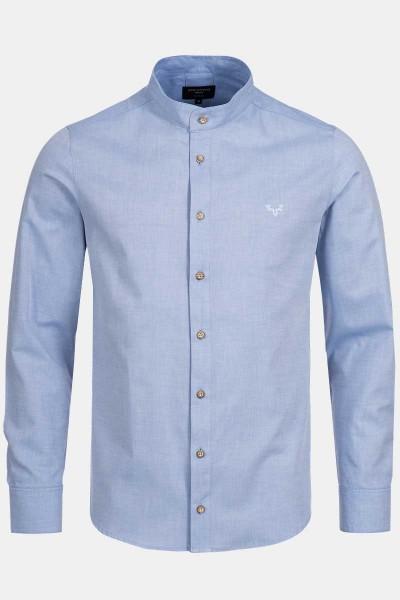 CocoVero-Men-Trachtenhemd-Finley-Kentucky-Blue
