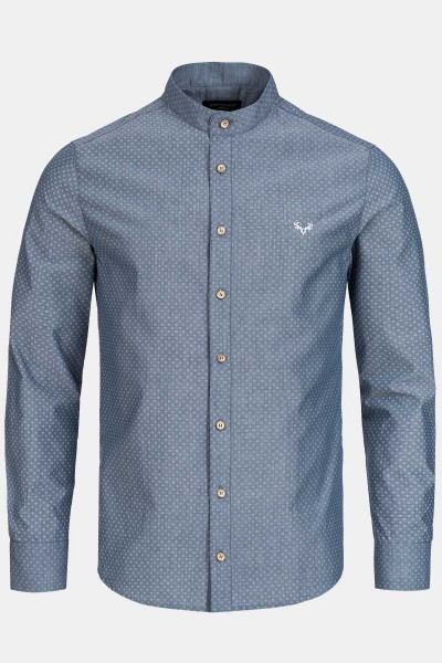 CocoVero-Men-Trachtenhemd-Finley-Maison-Blue